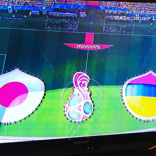 初戦勝ち点3!どうにかあと1勝できないもんかね!どんどん盛り上がっていこう!#pal整体院 #ぱる整体院 #整体院pal #pal #高田馬場 #整体院 #肩こり #腰痛 #膝痛 #痛み取り #瀬崎療法  #サッカー  #ワールドカップ  #日本代表  #大迫半端ないって  #ロシア  #worldcup